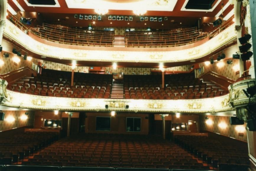 Palace theatre stalls or dress circle