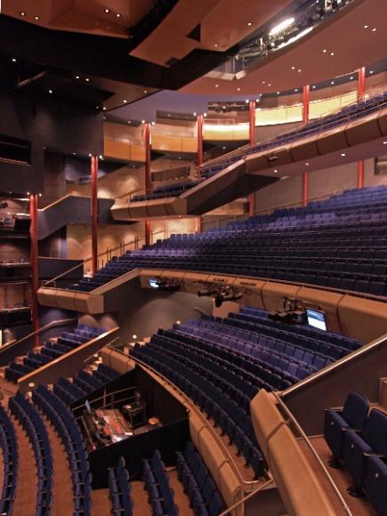 Across Auditorium From Box Auditorium Left Milton Keynes